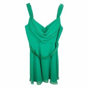 Christina Wu Occasions #22587 Shamrock Green Dress